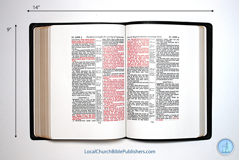 Beautiful red letter bible how to format a cover letter for Kjv wide margin red letter