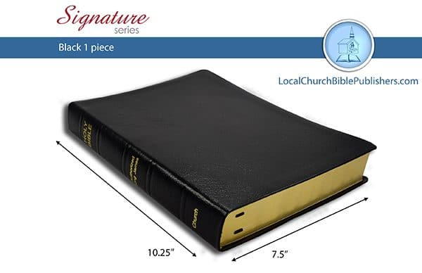 291 STB Large Print Classic Study Bible Black 1 Piece (Standard) Limited  Edition